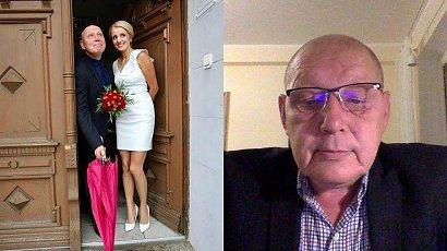 Krzysztof Jackowski ma żonę młodszą o 19 lat! Zdradziła, jak się poznali