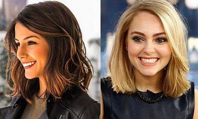 Fryzury dla włosów półdługich - genialne cięcia dla brunetek i blondynek