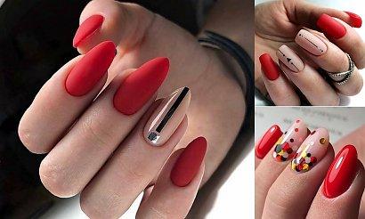 Czerwony manicure – niezawodna klasyka w jesiennych odsłonach