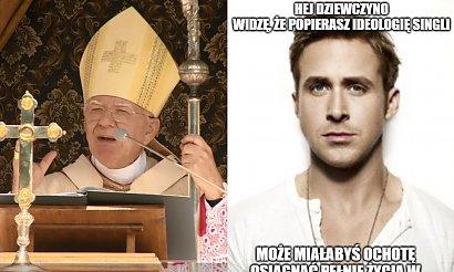"""Arcybiskup Jędraszewski ostrzega przed """"ideologią singli""""! Internauci już tworzą memy"""