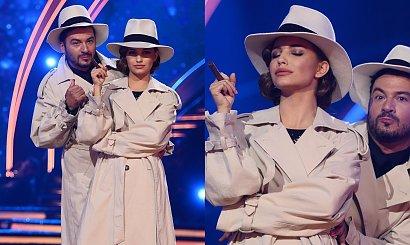 Taniec z Gwiazdami: Julia Wieniawa wyszła w trenczu, ale później go zrzuciła! Było gorąco!