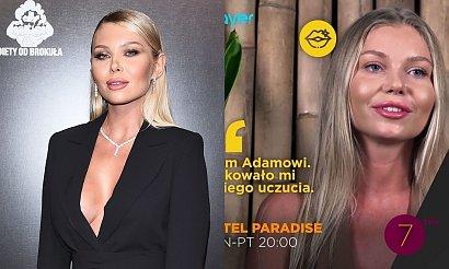 """Martyna Kondratowicz z """"Hotel Paradise"""" z dużym dekoltem debiutuje na salonach! A gdy stanęła bokiem..."""