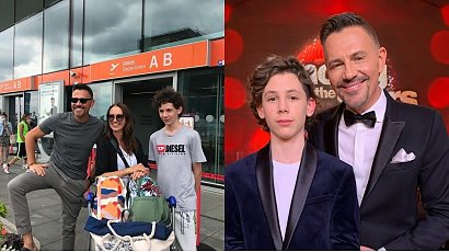 Krzysztof Ibisz wystąpił na scenie z synem. 14-latek pójdzie w ślady sławnych rodziców?