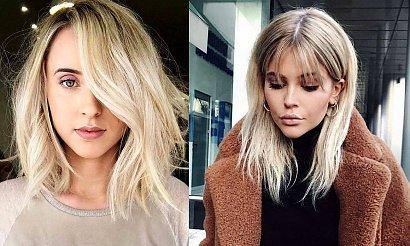 Półdługie fryzury dla blondynek – katalog unikatowych cięć