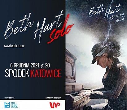 Beth Hart Solo już w grudniu zagra w Polsce wyjątkowy koncert!
