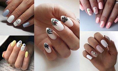 Jasny manicure - 21 przepięknych stylizacji na jesień