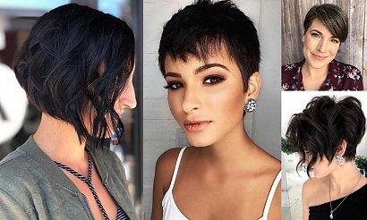 Krótkie fryzury dla brunetek i szatynek - 25 ultramodnych cięć