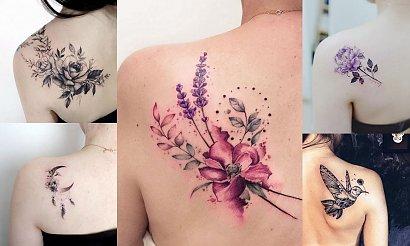 Tatuaże na łopatce - 16 ślicznych i ciekawych wzorów dla kobiet