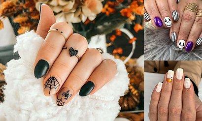 Manicure na Halloween - galeria stylowych pomysłów