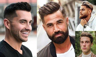 Modne fryzury męskie - internetowy katalog fryzur jesień/zima 2020