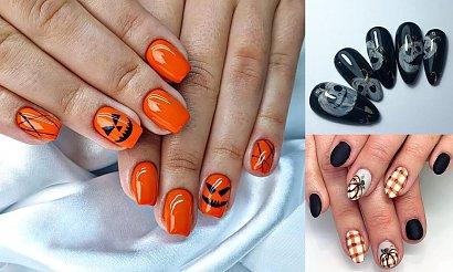 Dyniowy manicure rządzi - 18 stylizacji na halloween