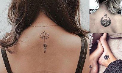 Kwiat lotosu - 20 fantastycznych i ciekawych tatuaży