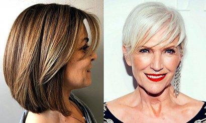Modne fryzury dla 50-latki - 20 stylowych cięć