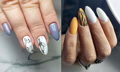 Biały manicure - 18 subtelnych i przepięknych stylizacji