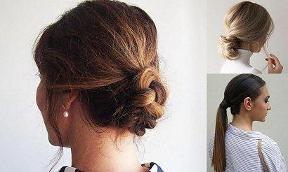 Łatwe i wygodne fryzury do pracy [GALERIA]