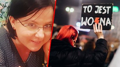 Kaja Godek ofiarą ataków strajkujących. Zamówili jej 2 tony węgla do domu i kilkaset wieszaków