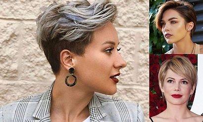 Pixie cut 2020 - kilkanaście oryginalnych fryzur na jesień