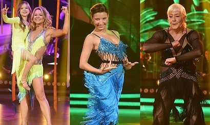 Taniec z Gwiazdami: Gwiazdy zatańczyły z bliskimi. Wszystkich rozłożyła na łopatki 75-letnia partnerka Julii Wieniawy!
