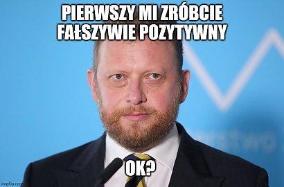 Łukasz Szumowski ma znów koronawirusa! Są nowe MEMY
