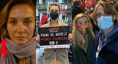 Gwiazdy protestują przeciwko wyrokowi TK na ulicach! Poparły Strajk Kobiet!