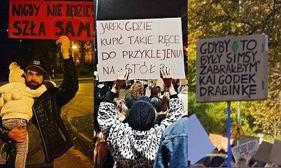 Strajk kobiet: Dziś wszyscy na Warszawę. Oto najciekawsze hasła z transparentów cz. 2