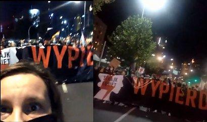 Strajk kobiet doszedł do siedziby PiS! Oburzenie po wyroku Trybunału Konstytucyjnego w sprawie aborcji sięgnęło zenitu