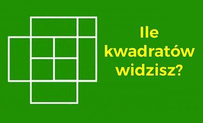 Ile kwadratów widzisz na obrazku?