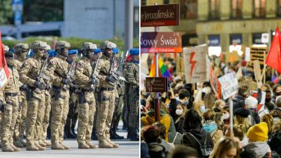 200 generałów przywołuje polityków do porządku. Obawiają się użycia siły wobec protestujących