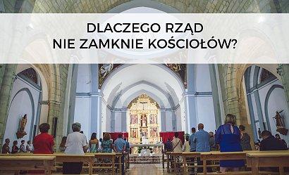 Dlaczego rząd nie zamknął kościołów? Premier tłumaczy, a Polacy są wściekli