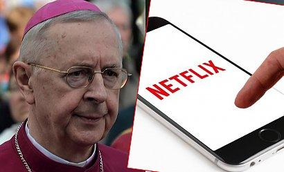 """Netflix odpowiedzialny za odchodzenie od wiary? Abp Gądecki: """"Niemalże każdy serial promuje homoseksualizm"""""""