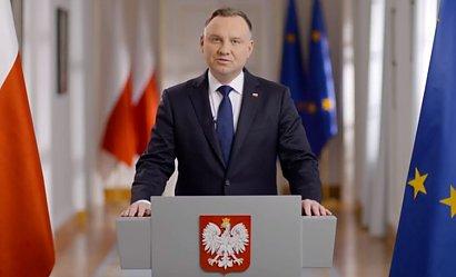 Orędzie Andrzeja Dudy. Dziękuje Polakom, ale nie wszystkim?