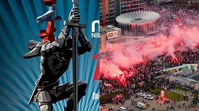 Dumni narodowcy pokazali plakat Marszu Niepodległości. A na nim? Imię ich bohatera z błędami...