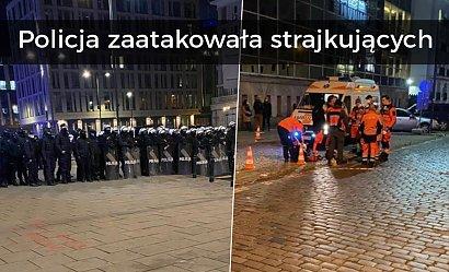 """Policja zaatakowała gazem strajkujące kobiety. Trzaskowski: """"Naprawdę, Polska Policjo?"""""""