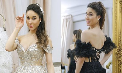 Ida Nowakowska przymierza luksusowe suknie na Sylwestra! Która najładniejsza?