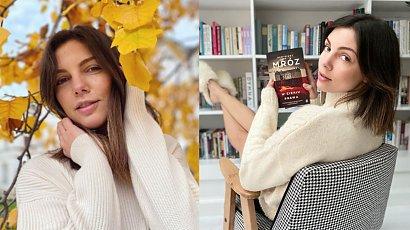 Karolina Gorczyca dodała odważne zdjęcie! Pozuje w płaszczu, pod którym nic nie ma! Przesadziła?