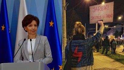 """Minister w sieci porównała protestujące do bezmózgich dzikusów. Twierdzi, że to """"atak hakerów"""""""