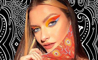 Piękna pomimo maski - sposób na makijaż