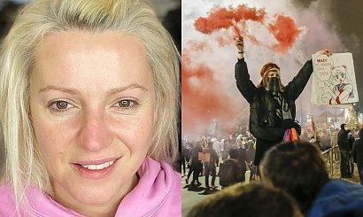 Dorota Szelągowska o zdjęciu bez makijażu: Dziewczyny, które chodzą na Strajk Kobiet, to jest odwaga, a nie ja!