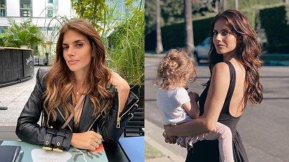 Wronika Rosati pokazała zdjęcie córeczki z plaży. 3-latka miała na sobie kozaczki na obcasie