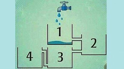 Który zbiornik wypełni się wodą jako pierwszy? Nie każdy zna prawidłową odpowiedź!
