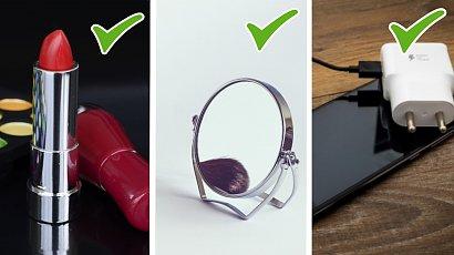 11 przedmiotów, które każda kobieta powinna mieć w swojej torebce. Zgadzacie się?