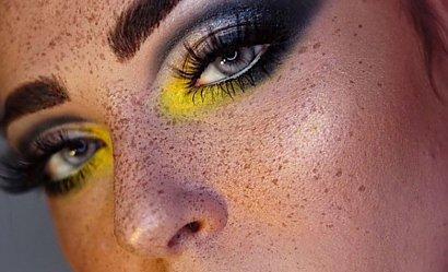 Niesamowity make-up w kolorach roku 2021