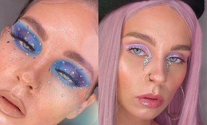 Jak z pokazów mody - trendy makijaże roku 2021!
