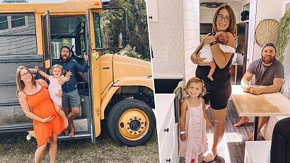 Zamieszkali z dziećmi w szkolnym autobusie. Jak wygląda ich dom na czterech kółkach?