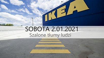 """IKEA Łódź: """"Dziki tłum ludzi, który niemal stratował mi dziecko. Ludziom odebrało rozum?!"""""""