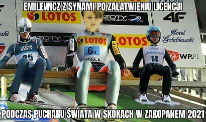 Synowie Jadwigi Emilewicz jeździli na nartach, choć stoki są zamknięte. Powstają memy