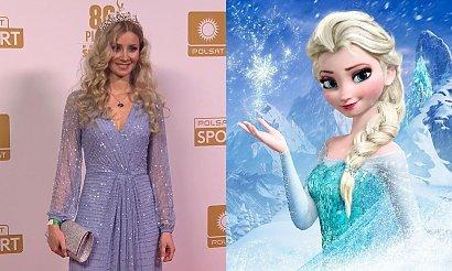 Ewa Bilan-Stoch jak księżniczka Elsa! Jej suknia podzieliła internautów!