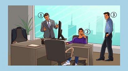 Który mężczyzna jest szefem? Ta zagadka spędza sen z powiek internautom! Znasz odpowiedź?