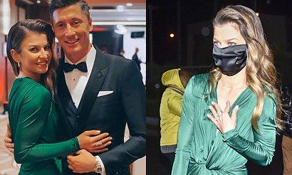 Anna Lewandowska zaliczyła wpadkę?! Zielona suknia od Dolce&Gabbana miała poważny defekt