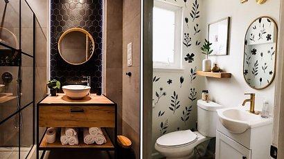 Mała łazienka nie musi być nudna! Genialne triki, które pomogą Ci stworzyć ciekawe wnętrze